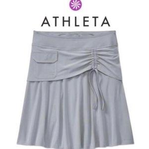 Athleta Wherever Skort Grey Size 8